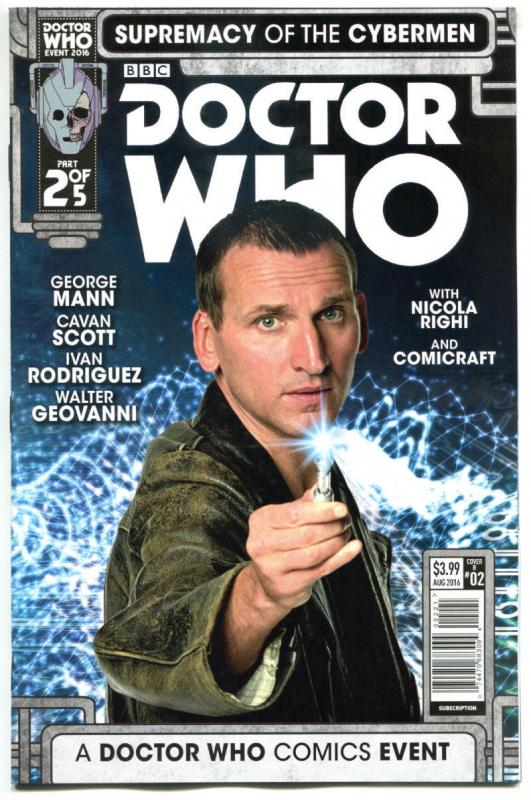 DOCTOR WHO Supremacy of the CYBERMEN 2 B, NM, Tardis, 2016, 1st,more DW in store