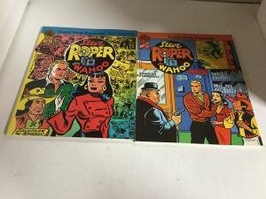 Steve Roper And Wahoo Book 1 2 Oversized SC Blackthorne Publishing B15