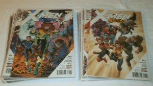 X-Men Blue #1-4,8-13+/X-Men Gold #1-6 2017 Prime, Cable comic book lot of 22