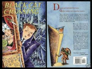 RICHARD SALA - BLACK CAT CROSSING stories by  1993 x 25