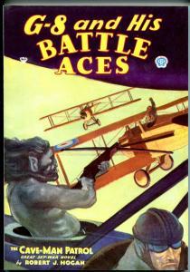 G-8 & His Battle Aces #19 4/1935-Adventure House reprint-2006-Hogan-pulp-VF/NM
