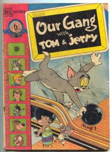 Our Gang Comics #52 1948- Tom & Jerry- Golden Age G/VG