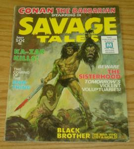 Savage Tales (1st Series) #1 VG; Marvel | low grade comic - save on shipping - d