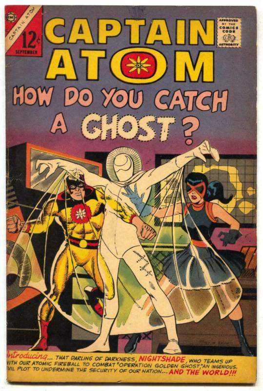 Captain Atom #82 DITKO-1st appearance of NIGHTSHADE / GHOST FN+