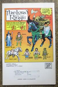 HEROES WORLD CATALOG #1 F-VF, JOE KUBERT COVER! subscription label