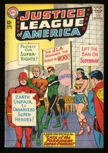 Justice League Of America #28 VG+ 4.5 DC Comics