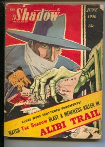 Shadow 6/1946-Street and Smith-Skeleton cover-:Alibi Trail by Maxwell Gran-H...
