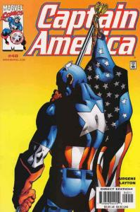 Captain America (3rd Series) #40 VF; Marvel   save on shipping - details inside