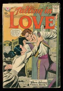 FALLING IN LOVE #29 1959-DC ROMANCE COMICS-CIRCUS ISSUE FR/G