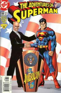 Adventures of Superman #586 VF/NM; DC   save on shipping - details inside