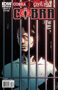 G.I. Joe Cobra: Cobra Civil War #3B VF/NM; IDW   save on shipping - details insi