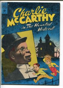 CHARLIE MCCARTHY-#196-1948-FOUR COLOR-HAUNTED HIDE-OUT-vg+