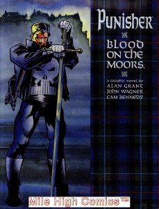 PUNISHER: BLOOD ON THE MOORS GN (1991 Series) #1 HC Near Mint