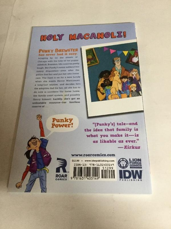 Pinky Brewster Tpb Nm Near Mint Roar Comics Idw