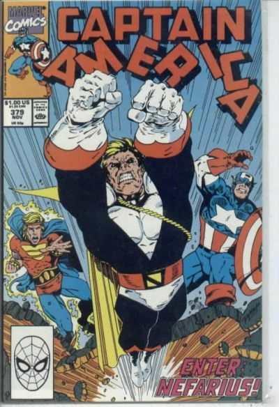 Captain America (1968 series) #379, NM- (Stock photo)