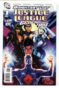 Justice League: Generation Lost  #1-2008-Brightest Day-comic book DC