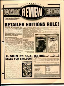 Overstreet's Comic Price Review #2 2003-CGC price changes-VF/NM