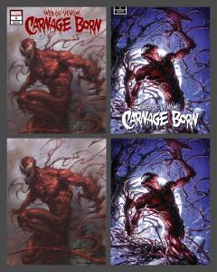 WEB OF CARNAGE #1 SCORPION COMIC'S VARIANTS