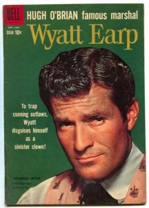 Wyatt Earp #8 1960- Hugh O'Brian photo cover G/VG