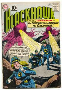 Blackhawk #166 1961-LADY BLACKHAWK VG