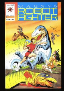 Magnus Robot Fighter (1991) #12 NM+ 9.6 1st Turok!