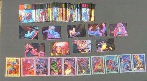 1994 Marvel Masterpieces 3/Sets Base/Foil/Powerblast Sabretooth Wolverine Rogue