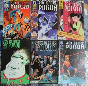 Box Office Poison Lot of 10 Comics Alex Robinson Antarctic Press Darlene Kaiser+