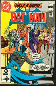 BATMAN #346-1982-DC VF