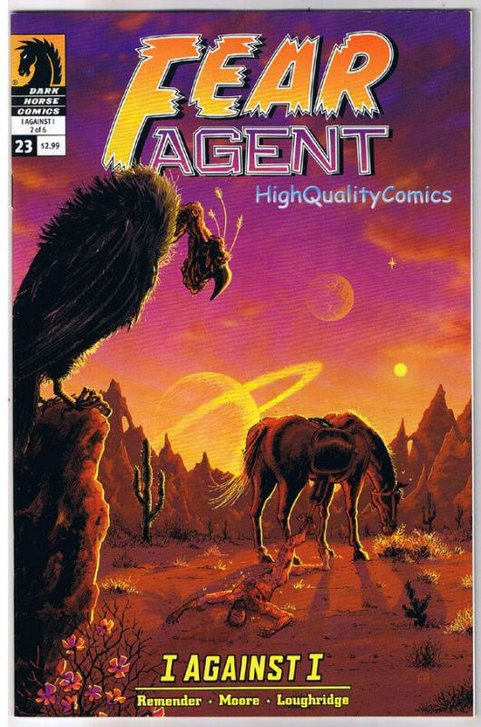 FEAR AGENT #23, Hatchet Job, Rick Remender, 2008, VF, more Sci-Fi in store