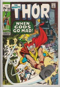 Thor, the Mighty #180 (Sep-70) NM- High-Grade Thor