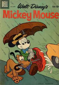 Mickey Mouse (Walt Disney's…) #67 VG; Dell | low grade comic - save on shipping