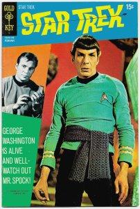 STAR TREK #9 • Gold Key • (Feb 1971) 8.5 VF+  Len Wein & Alberto Giolitti