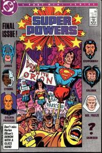 Super Powers (1986 series) #4, Fine+ (Stock photo)