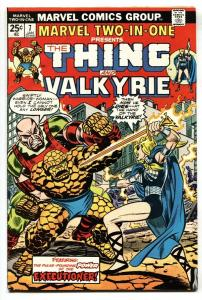 Marvel Two-In-One #7 1975- Valkyrie issue!-Thing-FN+