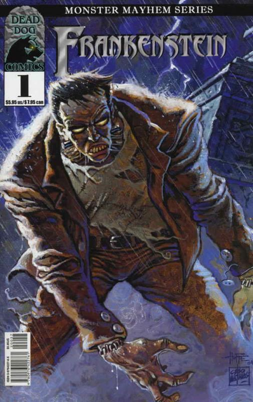 Frankenstein (Dead Dog) #1B VF/NM; Dead Dog | save on shipping - details inside