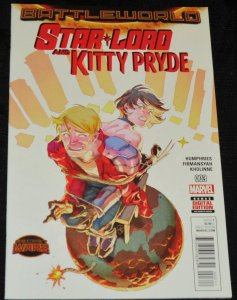 Star Lord and Kitty Pryde #3 -2015