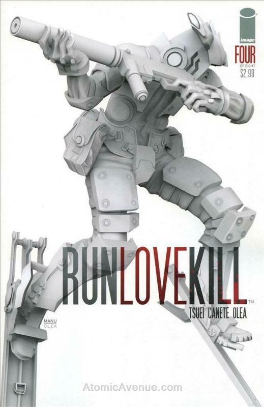 Run Love Kill #4 VF/NM; Image | save on shipping - details inside