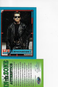 1991 Topps Terminator 2: Judgement Day Stickers #2 - ARNOLD AUTOGRAPH