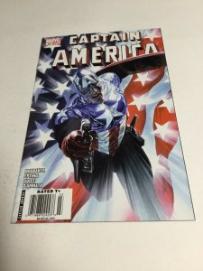 Captain America 34 Nm- Near Mint- Newsstand edition Variant Marvel