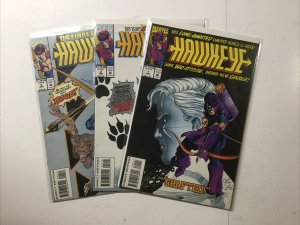 Hawkeye 1 2 4 Lot Run Set Near Mint- Nm- 9.2 Marvel