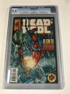 Deadpool (1997 series) #35 CGC 9.8