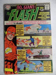 FLASH # 160 DC SILVER ACTION ADVENTURE 80 PAGE GIANT