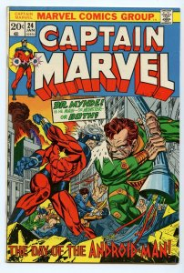 Captain Marvel 24 Jan 1973 FI- (5.5)