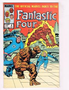 Fantastic Four #4 VG Marvel Comics Comic Book Torch Thing March 1985 DE34
