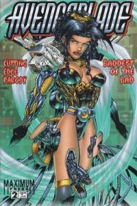 Avengeblade #2, NM- (Stock photo)