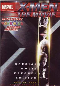 X-Men the Movie give away #1 (May-00) NM+ Super-High-Grade X-Men