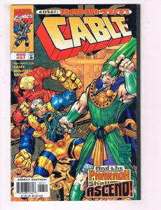 Cable #57 VF Marvel Comics Comic Book Casey X-Men Cyclops July 1998 DE22