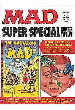 Mad Super Special #12 VG; E.C   low grade comic - save on shipping - details ins