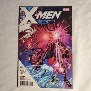 X-Men Blue 2 Very Fine+ Cover by Arthur Adams