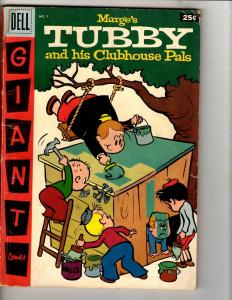 Marge's Tubby & His Clubhouse Pals # 1 VG/FN Dell Golden Age Comic Book JL18